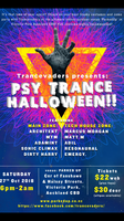 Party Flyer Trancevaders Psy-trance Halloween 27 Oct '18, 18:00