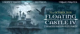 Party Flyer Floating castle - Halloween party 31 Oct '18, 22:30
