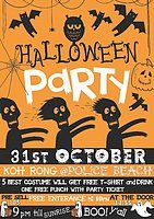 Party Flyer Halloween Gathering & Beach Party 31 Oct '18, 21:00