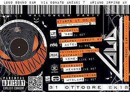 Party Flyer HallOWeeN pArTy 31 Oct '18, 22:00