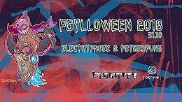 Party Flyer Psylloween 2018 - Planatek 31 Oct '18, 22:00
