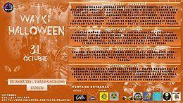 Party Flyer WAYKIHALLOWEEN HUAMBUTIO - OPEN AIR 31 Oct '18, 12:00