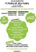 Party Flyer 5 Years Of Vila Flora 2 Nov '18, 13:30