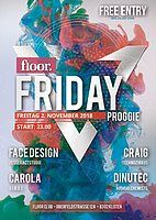 Party Flyer Floor Friday 2 Nov '18, 23:00