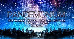 Party Flyer Pandemonium Festival 2, 3 y 4 Noviembre 2 Nov '18, 15:00