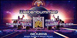 Party Flyer Weltenbummler with Bunker Jack 2 Nov '18, 22:00
