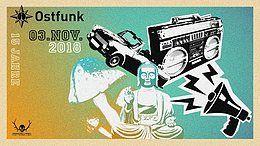 Party Flyer 15 Jahre Ostfunk 3 Nov '18, 22:00
