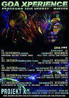 Party Flyer ★Lagoona★ Progressive & Psychedelic Djane Night 3 Nov '18, 23:00