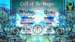 Party Flyer MAGUS NEXUS #4 - Cult Of The Magus (VA release party) 3 Nov '18, 21:00