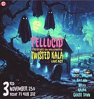 Party Flyer Pellucid 3 Nov '18, 21:00