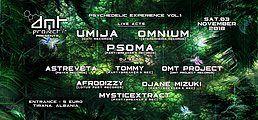 Party Flyer Psychedelic Experience Vol 1 3 Nov '18, 19:00