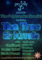 Party Flyer Psychedelic Jelly feat. Kwah & Tea Tree 3 Nov '18, 23:00