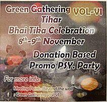Party Flyer Bhai Tika Celebration 8 Nov '18, 01:00
