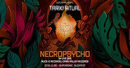 Party Flyer Tariki Ritual vol. 2 w/ Necropsycho (BR) 9 Nov '18, 22:00