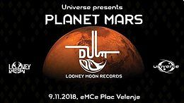 Party Flyer Universe presents PLANET MARS 9 Nov '18, 21:00