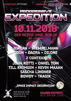 Party Flyer Progressive Expedition 10 Nov '18, 23:00
