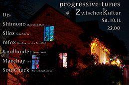 Party Flyer progressive tunes 10 Nov '18, 22:00