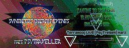 Party Flyer Synthetic Dreams Events pres. PsyTraveller 10 Nov '18, 22:00