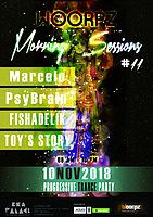 Party Flyer Woorpz Morning Sessions #11 10 Nov '18, 04:00