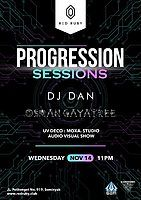 Party Flyer Progression Sessions 14 Nov '18, 23:00