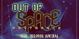 Party Flyer OUT of SPACE - Deeprog Special 15 Nov '18, 22:00