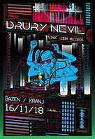 Party Flyer Chagadelia presents: DRURY NEVIL - live! 16 Nov '18, 22:00