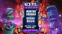 Party Flyer ॐ Evolution Goa / Morten Granau / Benni Moon / Okin Shah 16 Nov '18, 23:00