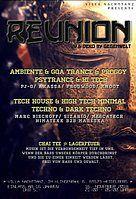 Party Flyer REUNION 16 Nov '18, 21:00