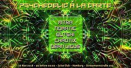 Party Flyer TNS - Psychedelic Á La Carte III 16 Nov '18, 23:00