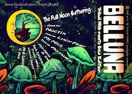 Party Flyer Belluna - Full Moon Gathering - Goa Edition 17 Nov '18, 22:00