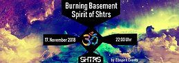 Party Flyer Burning Basement Winter Opening 17 Nov '18, 22:00