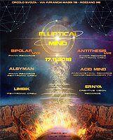 Party Flyer Elliptical Mind 17 Nov '18, 22:00