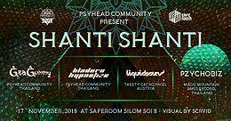 "Party Flyer Psyhead Community present ""SHANTI SHANTI"" 17 Nov '18, 21:00"