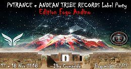 Party Flyer PVTrance & Andean Tribe Records Label Party 17 Nov '18, 22:00