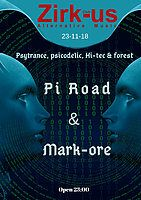 Party Flyer Zirk-us Alternative Music 23 Nov '18, 23:00