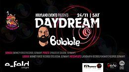Party Flyer Bubble (Mushy Records) Israel presented by Holyland Events 24 Nov '18, 22:00