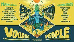 Party Flyer EDC x HADRA - Voodoo People 24 Nov '18, 22:00