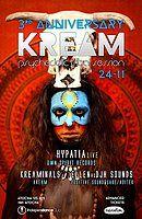 Party Flyer KREAM 3º Aniversary 24 Nov '18, 23:30