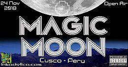 Party Flyer Magic Moon - Art & Music 24 Nov '18, 17:00