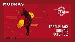 Party Flyer Mudras w/ Captain Jack 24 Nov '18, 23:00