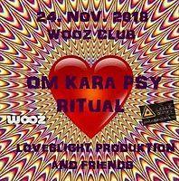 Party Flyer Om Kara Psy Ritual 24 Nov '18, 22:00