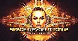 Party Flyer Space Revolution 2 /(live) Mind Void /Effective 24 Nov '18, 23:00
