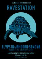 Party Flyer Ste Catherine Ravestation 24 Nov '18, 20:00