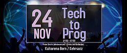 Party Flyer Tech to Prog 24 Nov '18, 21:00