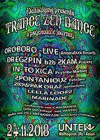 Party Flyer Trance-Zen-Dance 24 Nov '18, 23:00