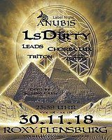 Party Flyer Anubis Rec. Label Night 30 Nov '18, 23:30