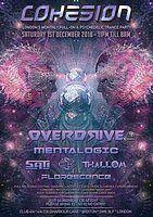 Party Flyer Cohesion PsyTrance Adventure 1 Dec '18, 23:00