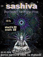 Party Flyer Sashiva Psychedelic 1 Dec '18, 20:00