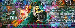 Party Flyer ciclos del trueno VI (Female Dj Limited Edition). 7 Dec '18, 22:00
