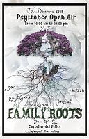 Party Flyer Family Roots - Castellar del Reves 7 Dec '18, 10:00